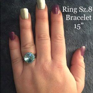 Ladies Sabika inspired ring